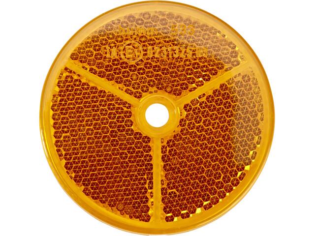 Busch + Müller Reflector Bike Reflector Ø6,5cm orange